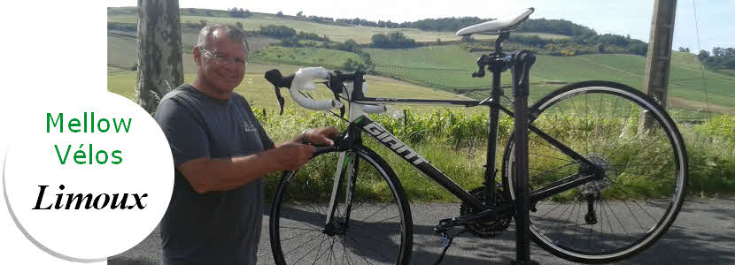 Bikes from Limoux with button