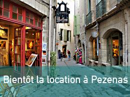 Location Pezenas