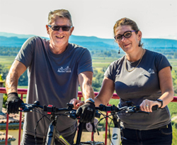 Hire your bikes from Vince and Sandra in Paraza